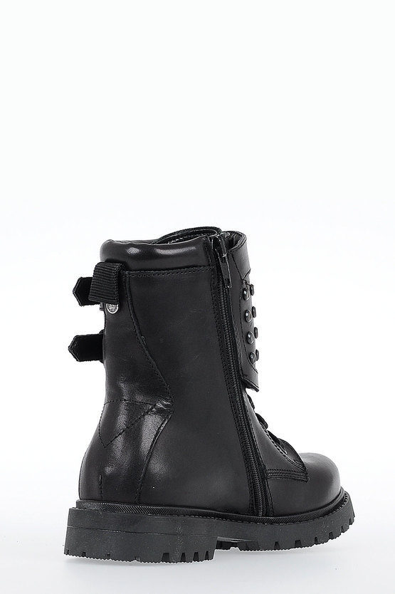 Leather HB 9 BOOT YO HALF BOOTS