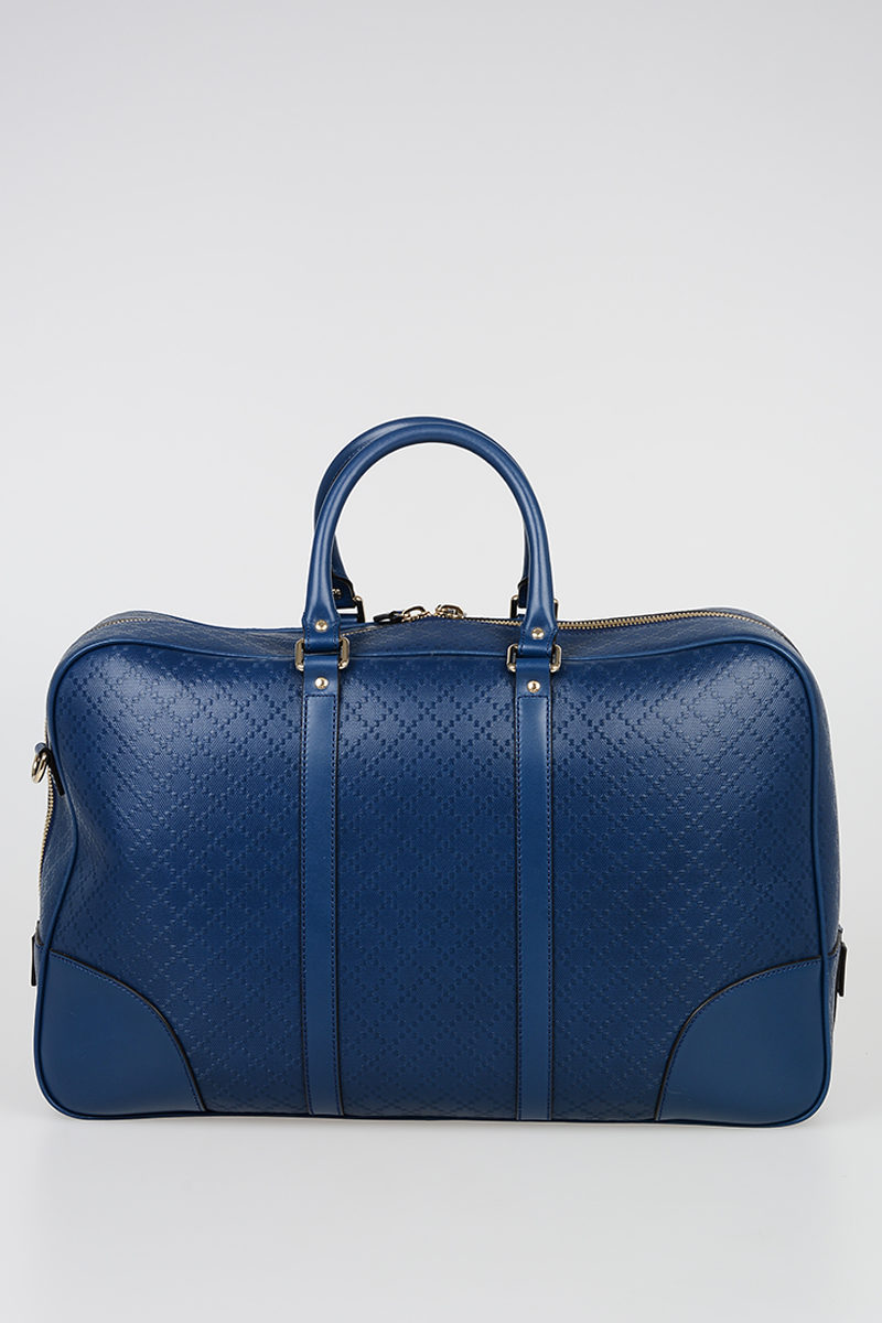 61099cec105e Gucci LEATHER HILARY WEEKEND BAG men - Glamood Outlet