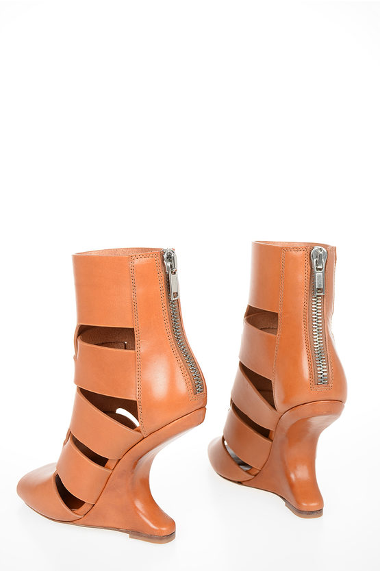 Leather HONEY WALRUS LAZARUS CANTILEVERED Sandals