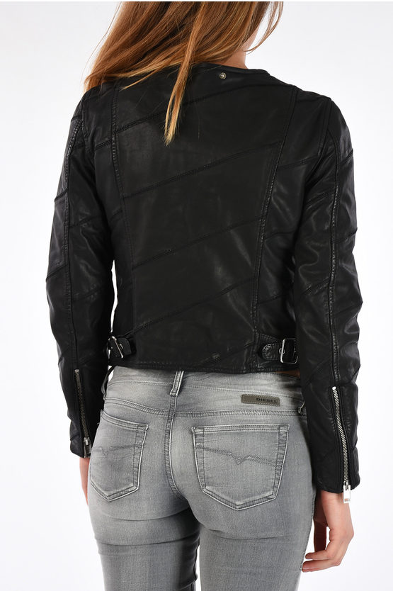 Leather L-ARENA-A Jacket