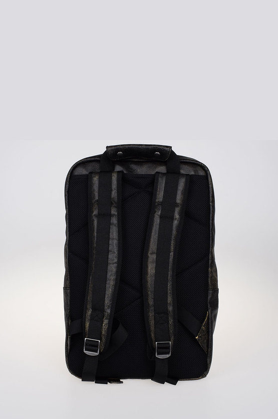 Leather L-HEAD BACK backpack
