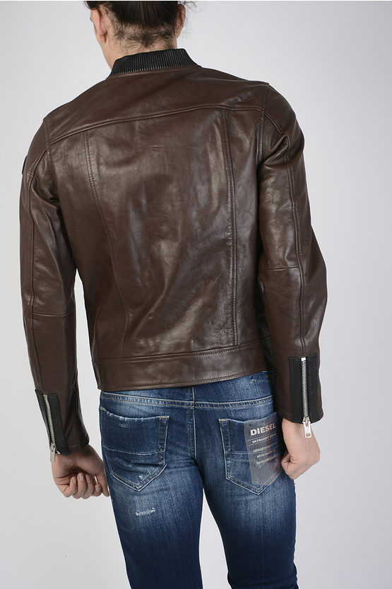 Leather L-LANDING Bomber