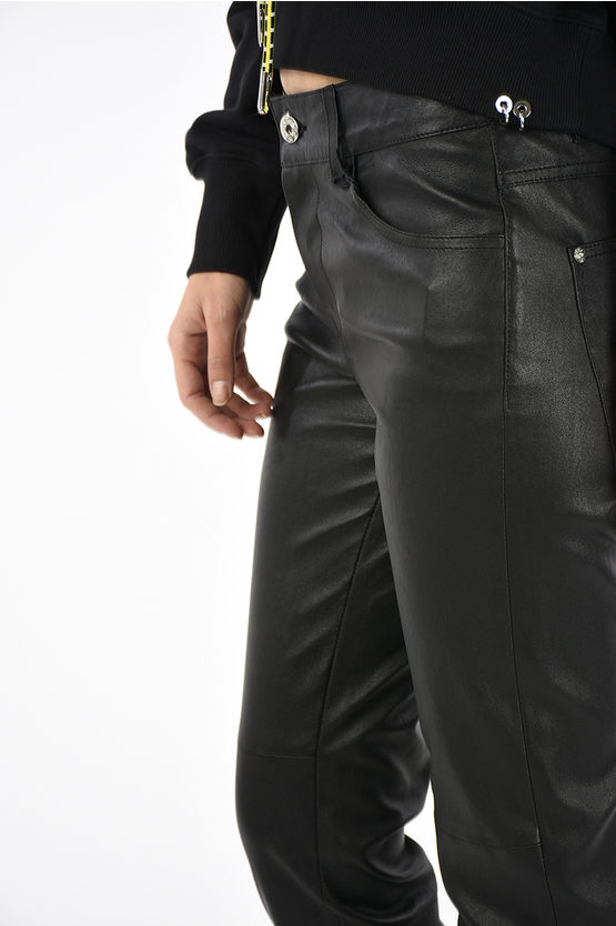 Leather L-TIME Trousers