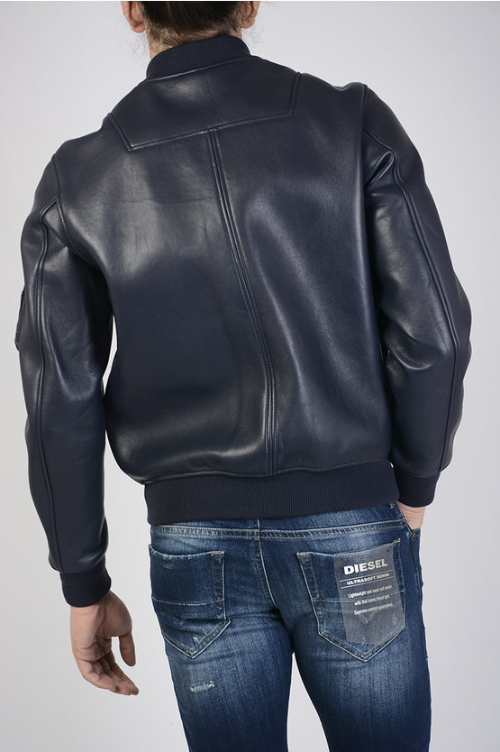 Leather L-WILDFIRE Bomber