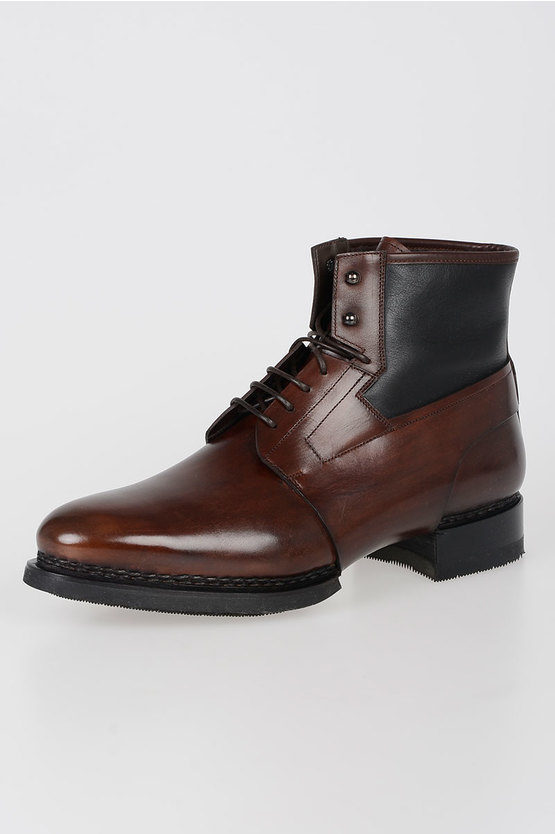 Leather Laced Shoes