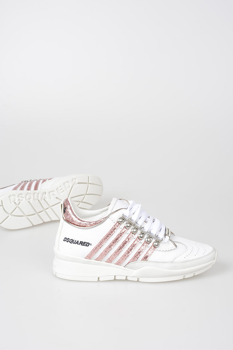 Dsquared2 Leather Low Sneakers women