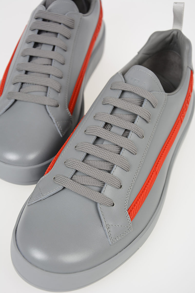 dfb7639d630a Prada Leather Low Sneakers men - Glamood Outlet