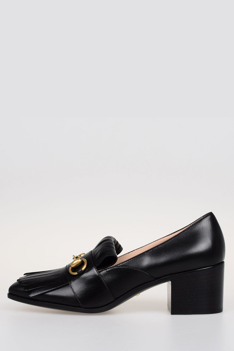 043c8618fb1 Gucci Leather MALAGA KID Loafer women - Glamood Outlet