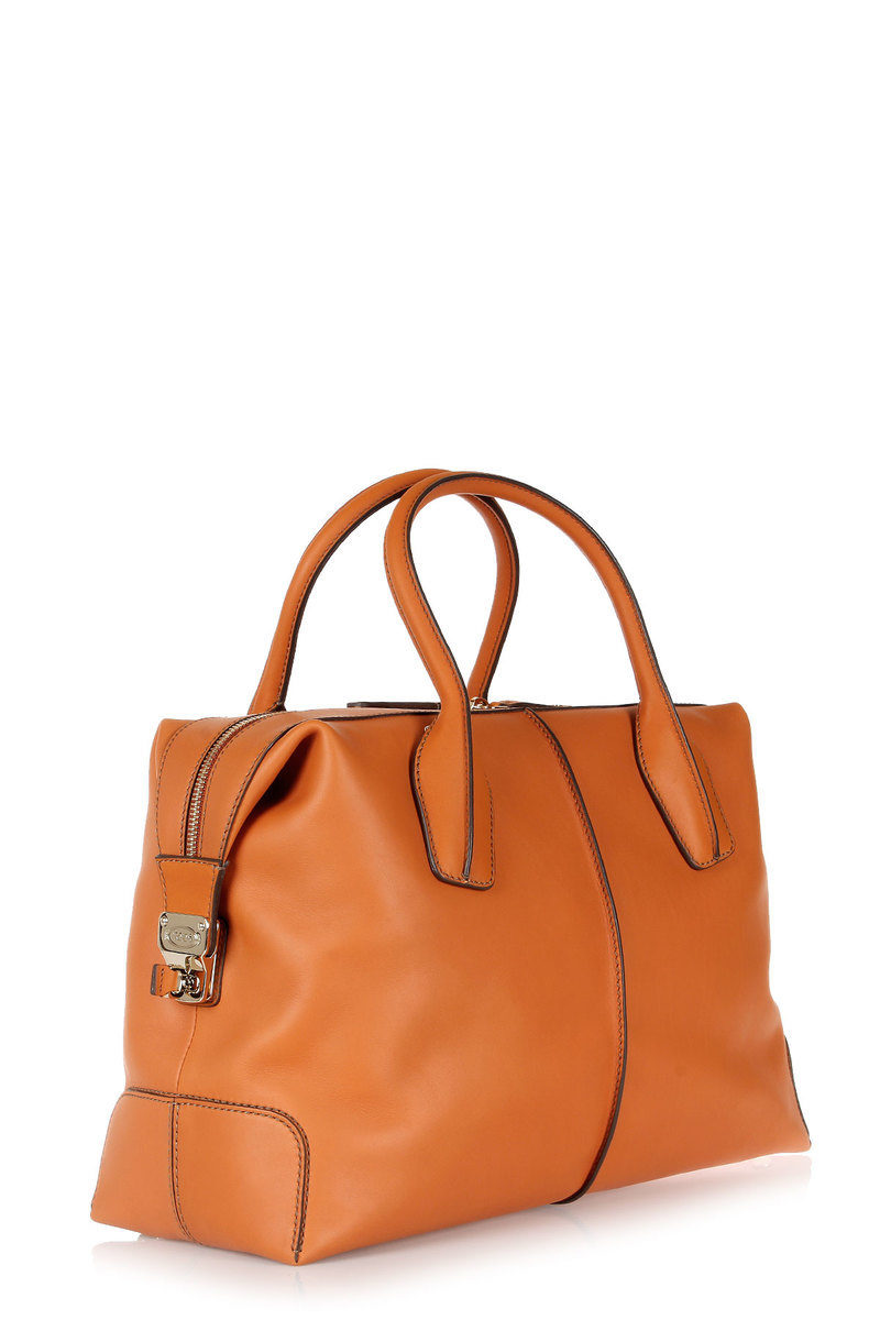 TODS Leather Medium D-STYLING Bowling Bag women