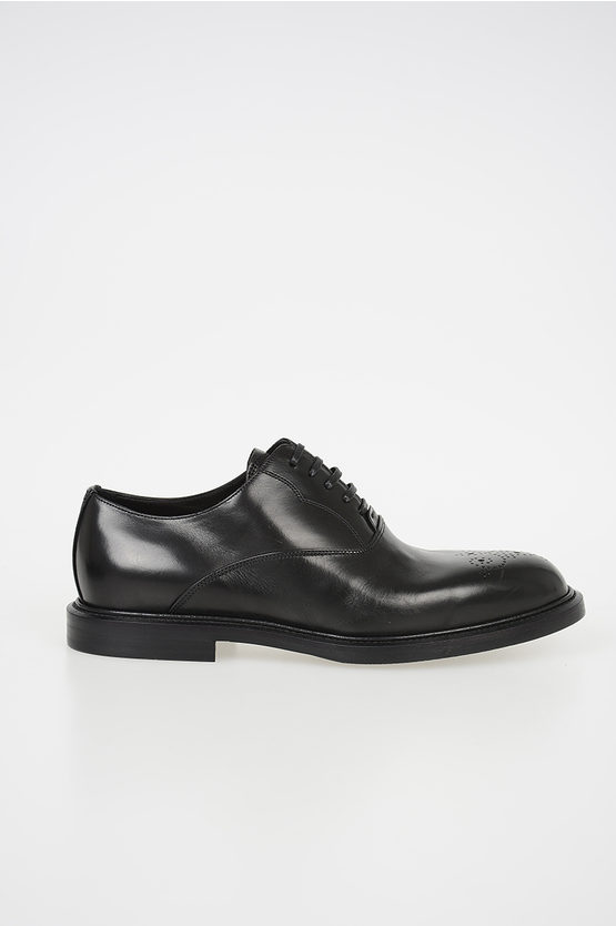 Leather MICHELANGELO Oxfords Shoes