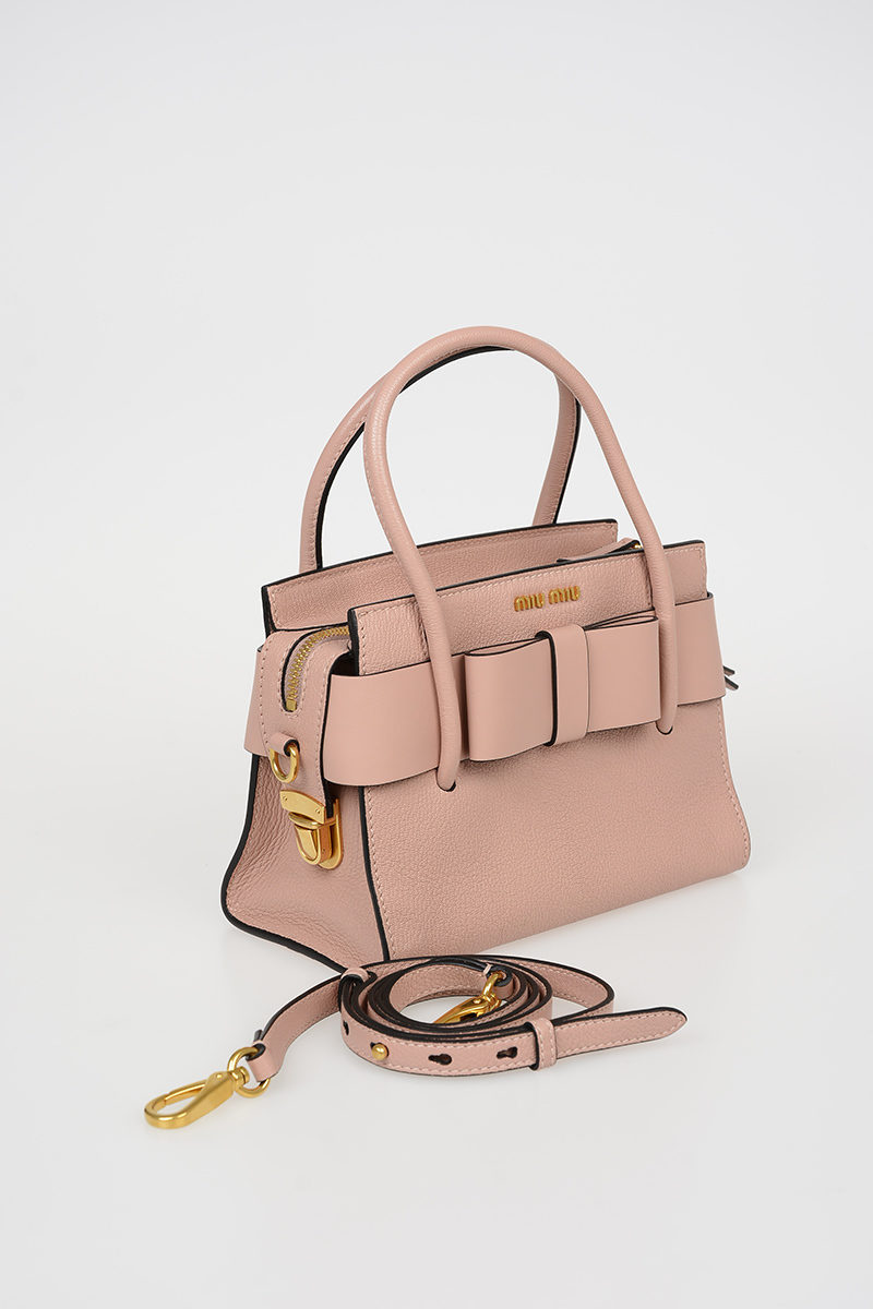 Miu Miu Leather Mini Bag women - Glamood Outlet 4dd63ba60d002