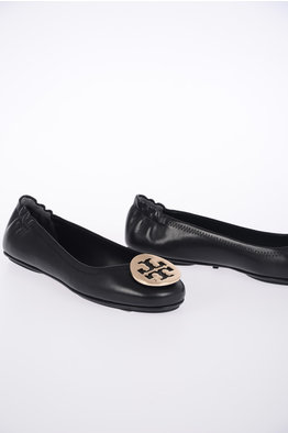 01bd685b5015 -45% NEW IN. Tory Burch Leather MINNIE TRAVEL Ballet Flats
