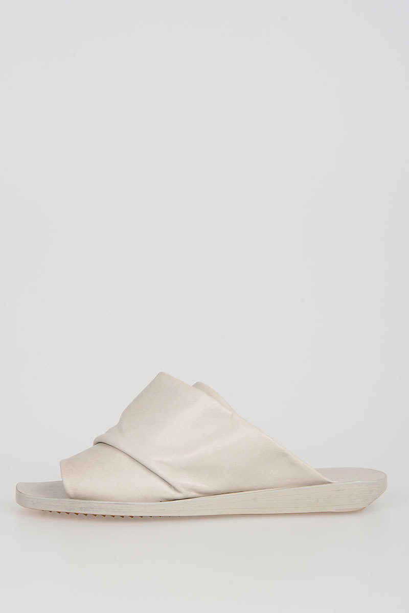 Leather MOBIUS 2 SLIVER Slides Spring/summer Rick Owens Cheap Official Eastbay Buy Cheap Choice Discount Marketable Clearance Perfect T29OK3jT