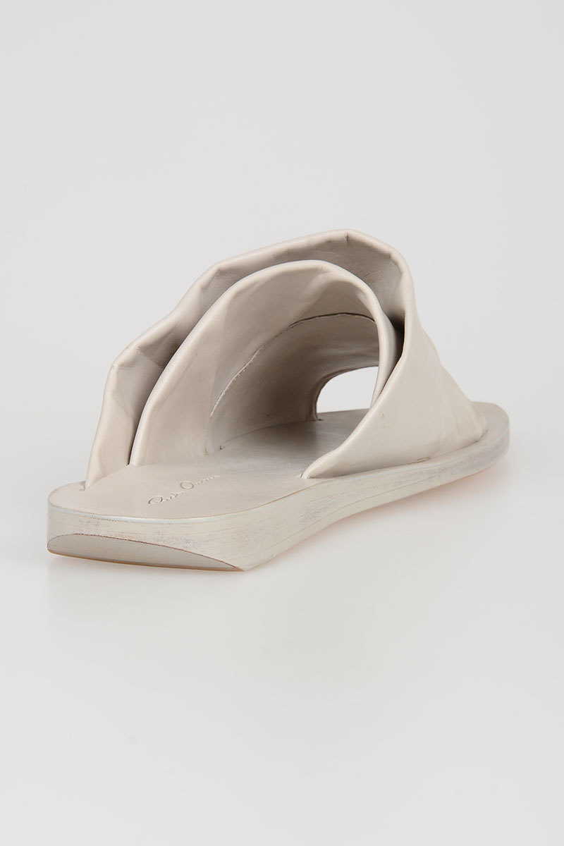 Leather MOBIUS 2 SLIVER Slides Spring/summer Rick Owens Very Cheap Cheap Online Best Prices Sale Online From China Free Shipping Low Price Visit New Online UOuLeXmdt