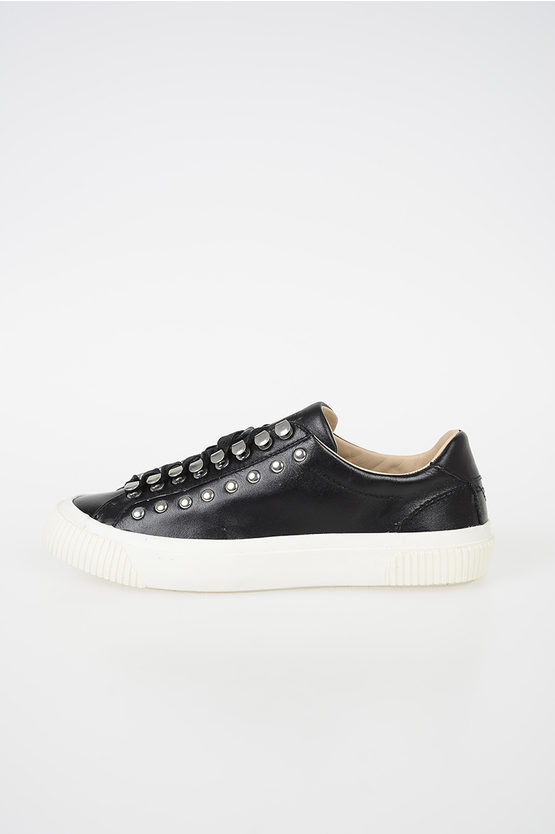 "Leather ""MUSTAVE"" Sneakers"