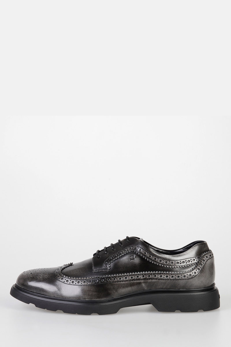 Leather NEW ROUTE DERBY Brogue Lace Up Shoes
