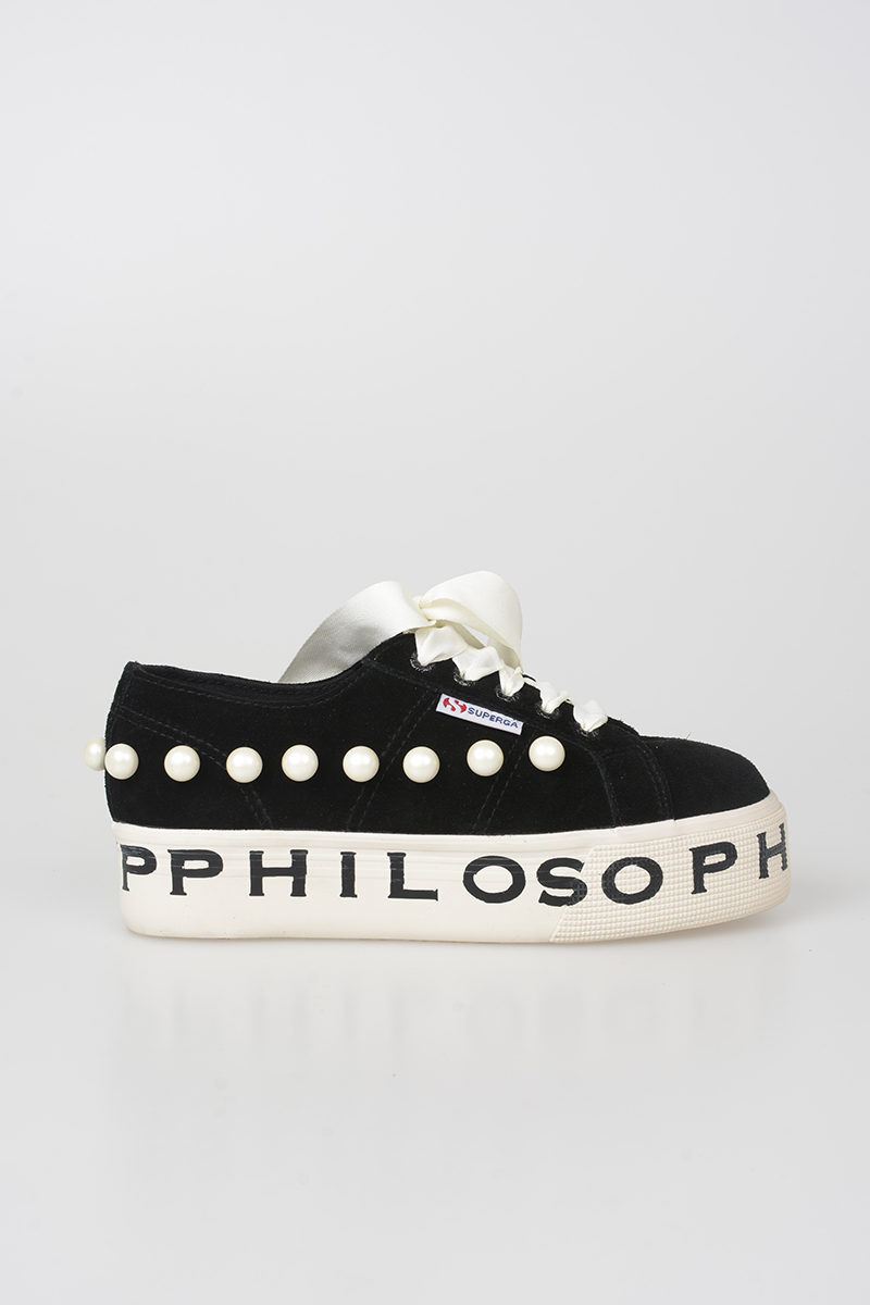 Superga Leather PHILOSOPHY Sneakers