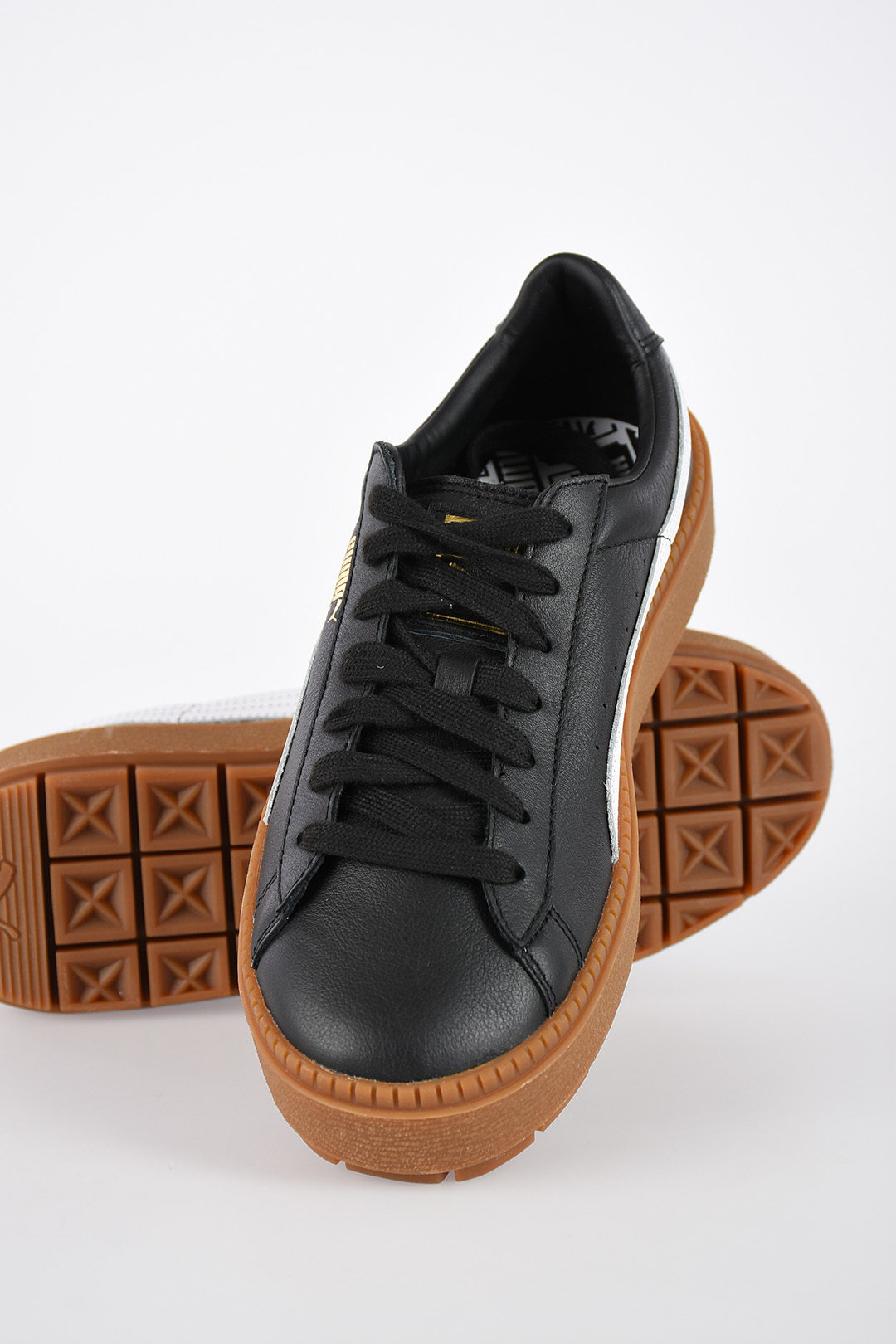 new concept 4fa12 55905 Leather PLATFORM TRACE Sneakers