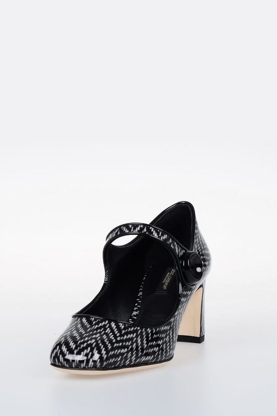 Leather Printed JACKIE Pumps