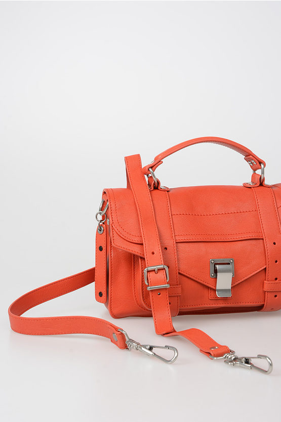 Leather PS1 TINY LUX Satchel Bag