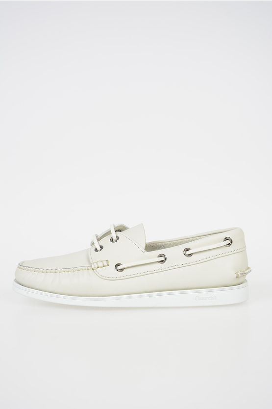 Leather PULL UP Loafer