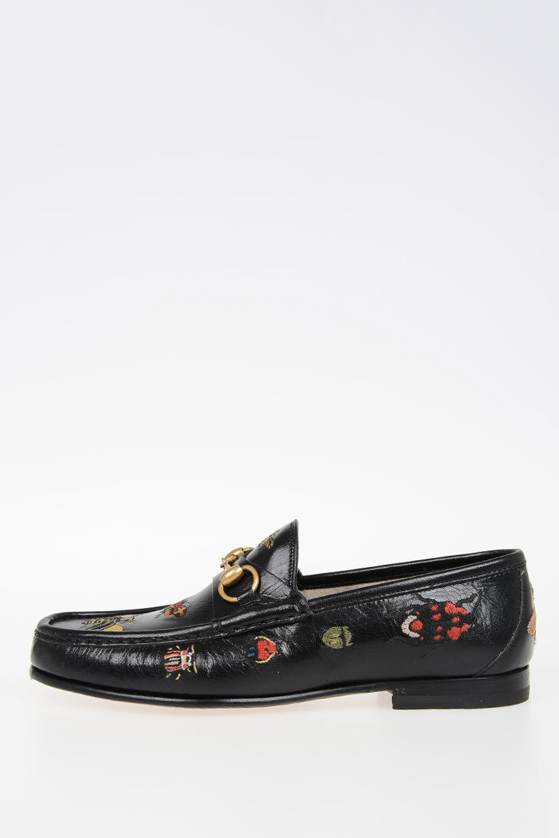 a637852a4 Gucci Leather QUENTIN Loafers men - Glamood Outlet