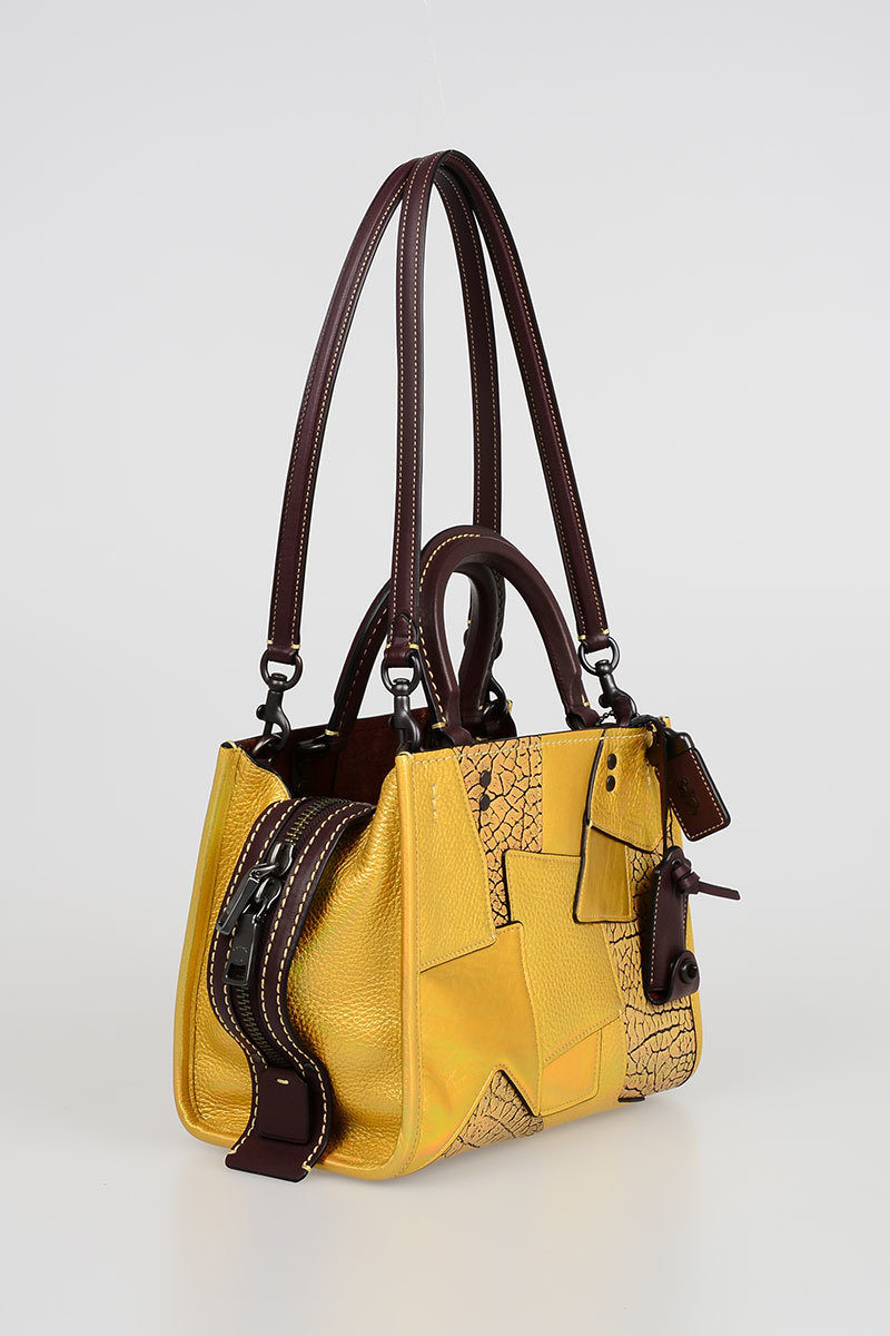 Leather Rogue Bowling Bag