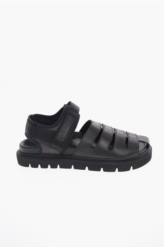 Leather SAMPEI Touch Strap Sandals