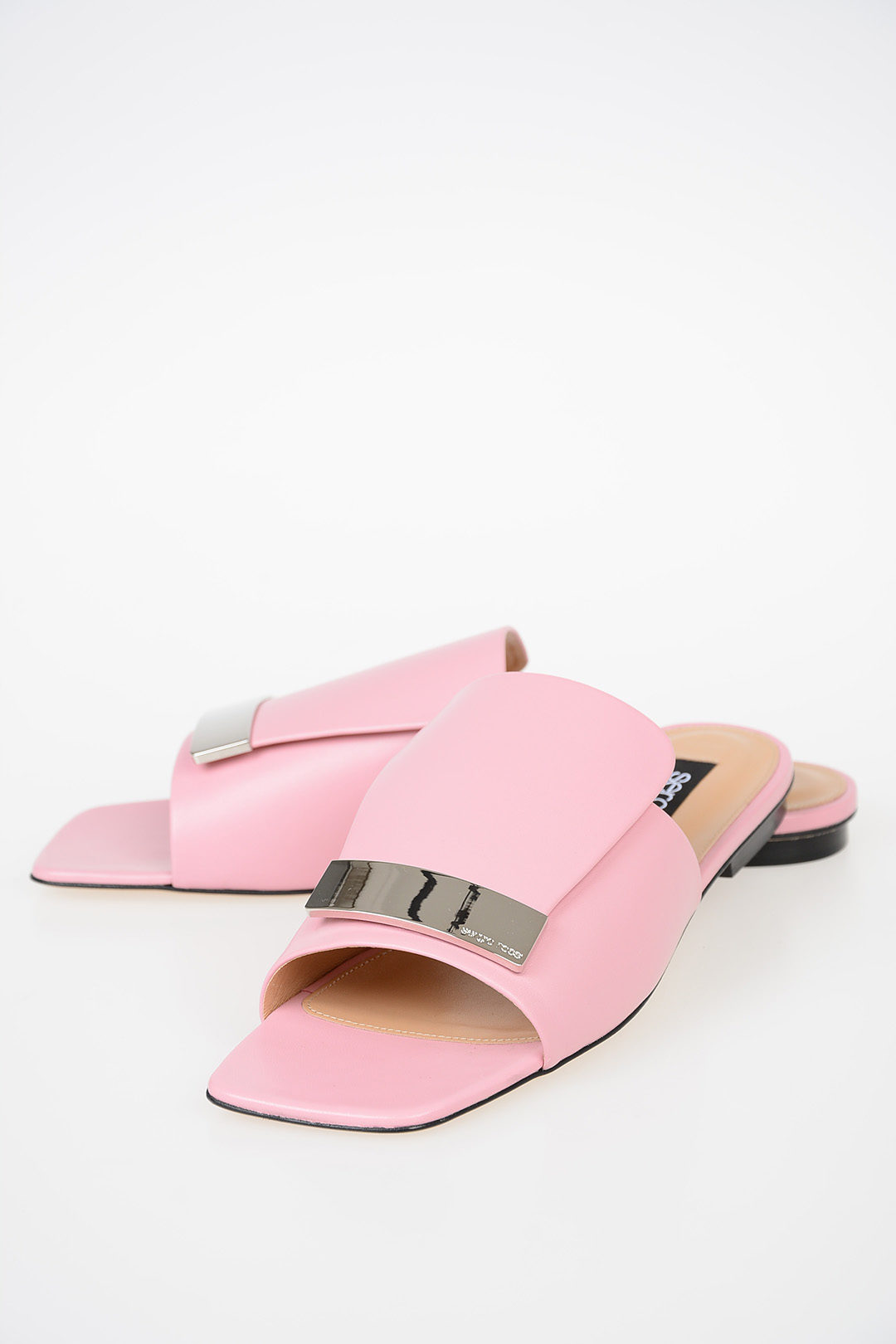 142ad6525 Sergio Rossi Leather Sandals women - Glamood Outlet