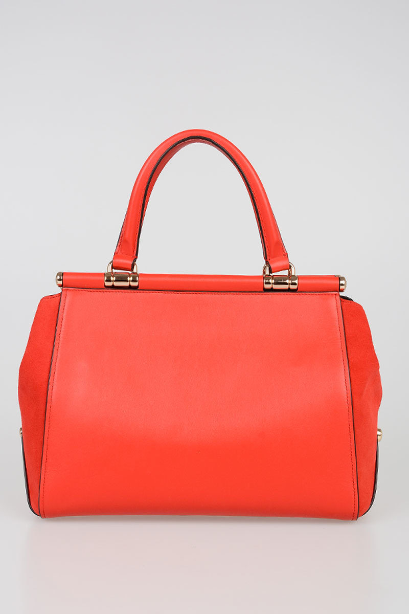 Leather Selena Red Bag