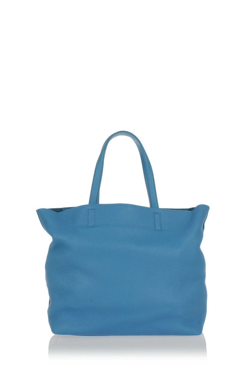 17c0e4146d07bf Trussardi Leather shopping bag women - Glamood Outlet