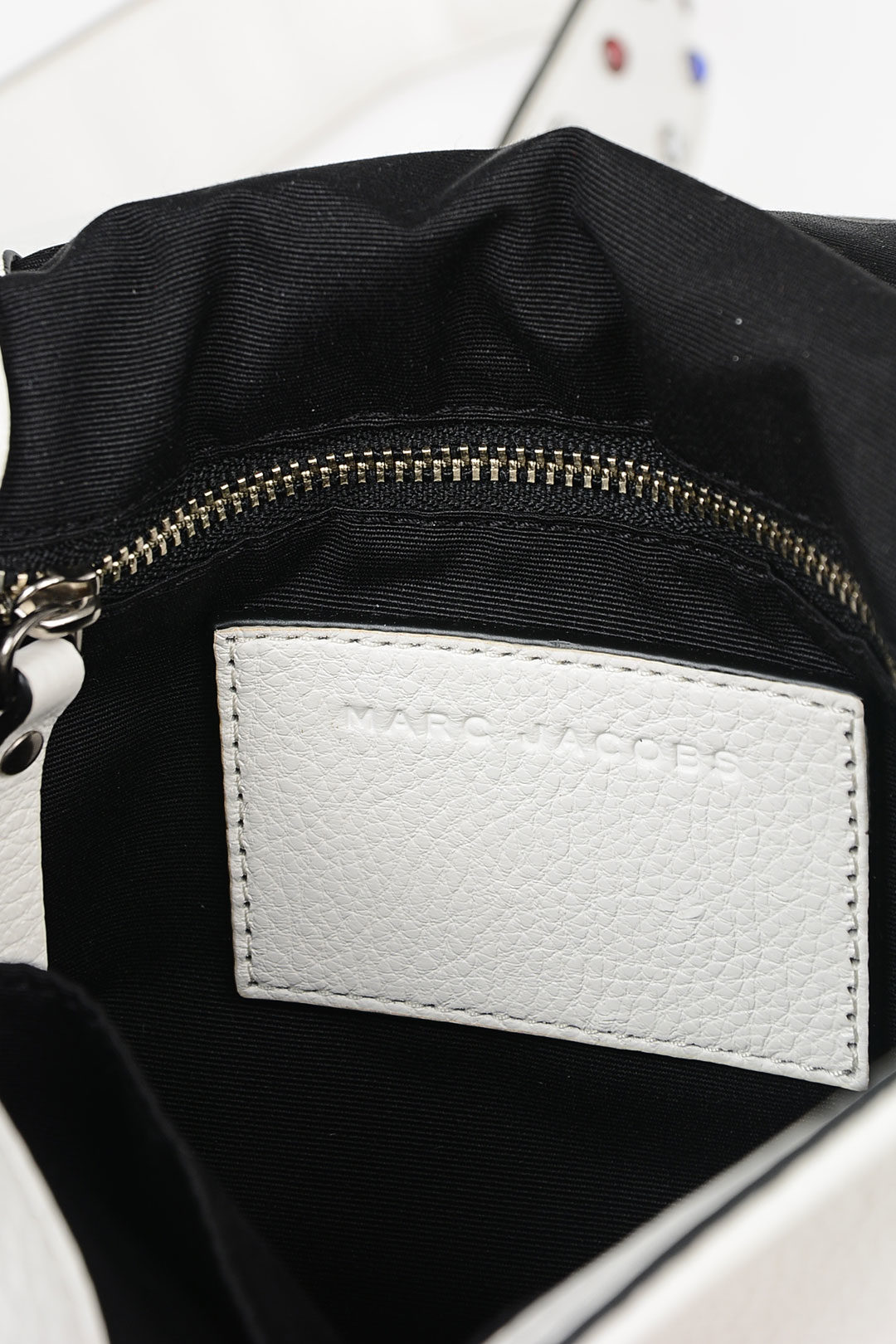 2ea08b8b67 Marc Jacobs Leather Shoulder Bag with Applications women - Glamood ...