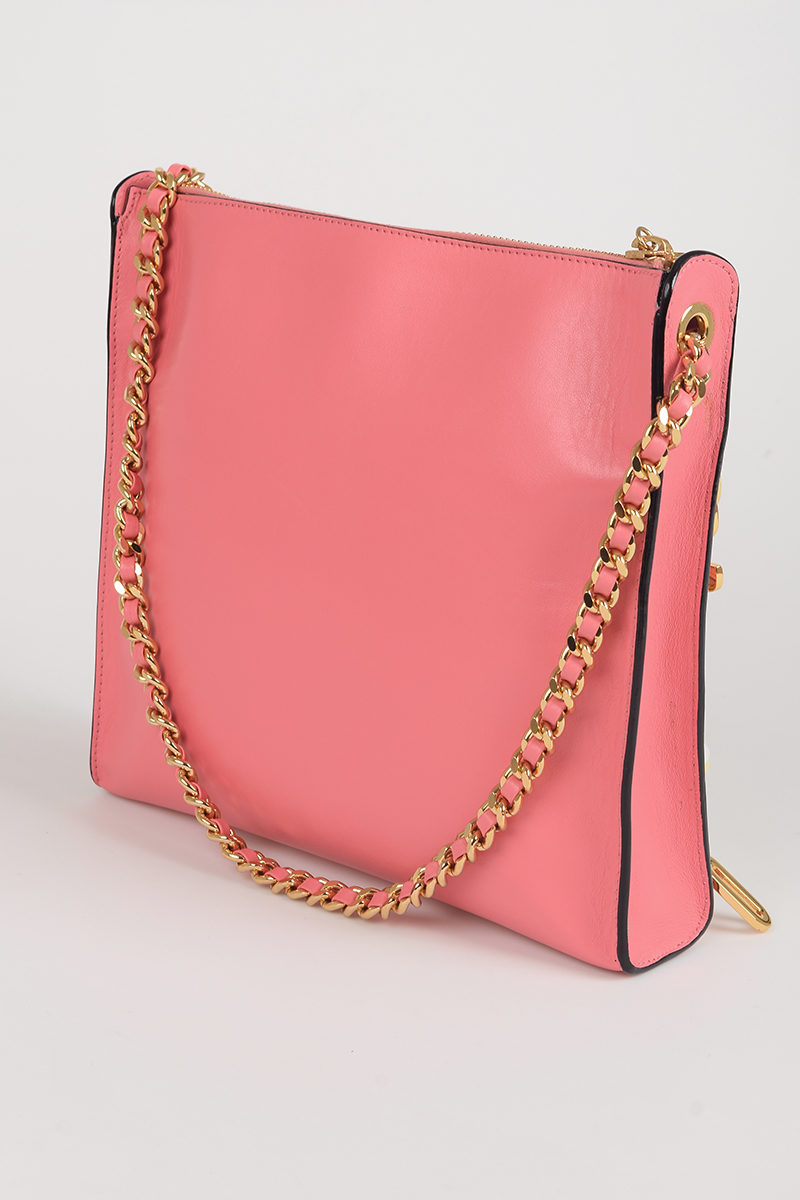 870f49d48388 Moschino Leather Shoulder Bag women - Glamood Outlet