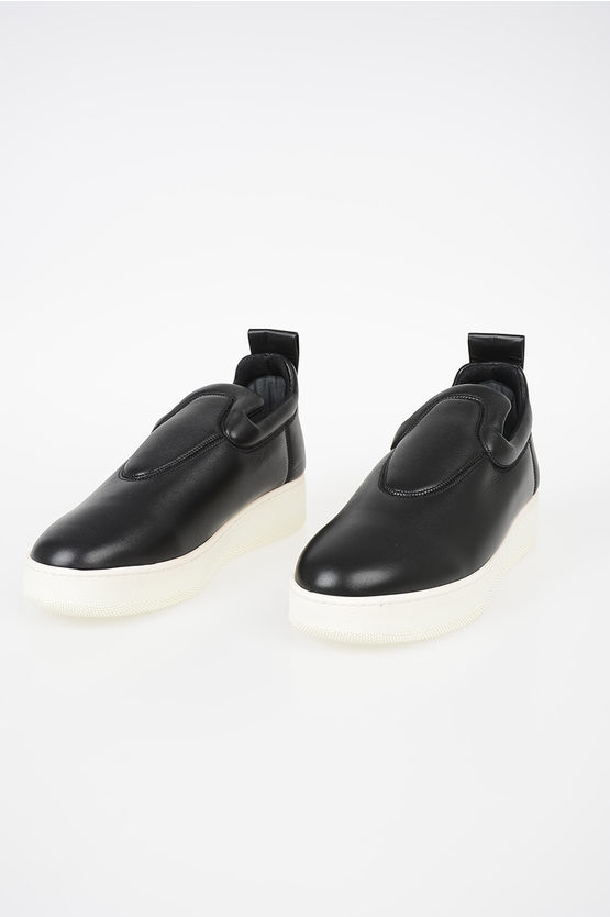 Leather Slip Ons