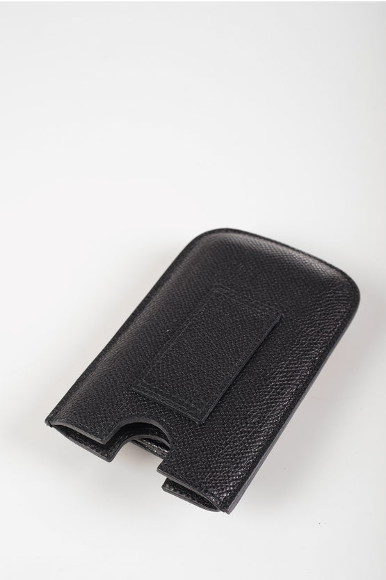 Leather Smartphone Holder with coin Holder