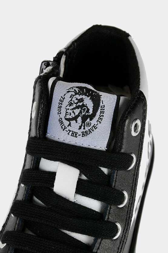 Leather SN MID 7 LOGO CH Sneakers