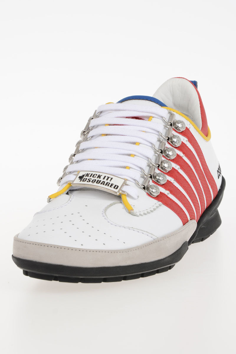 Dsquared2 Leather Sneakers Shoes men