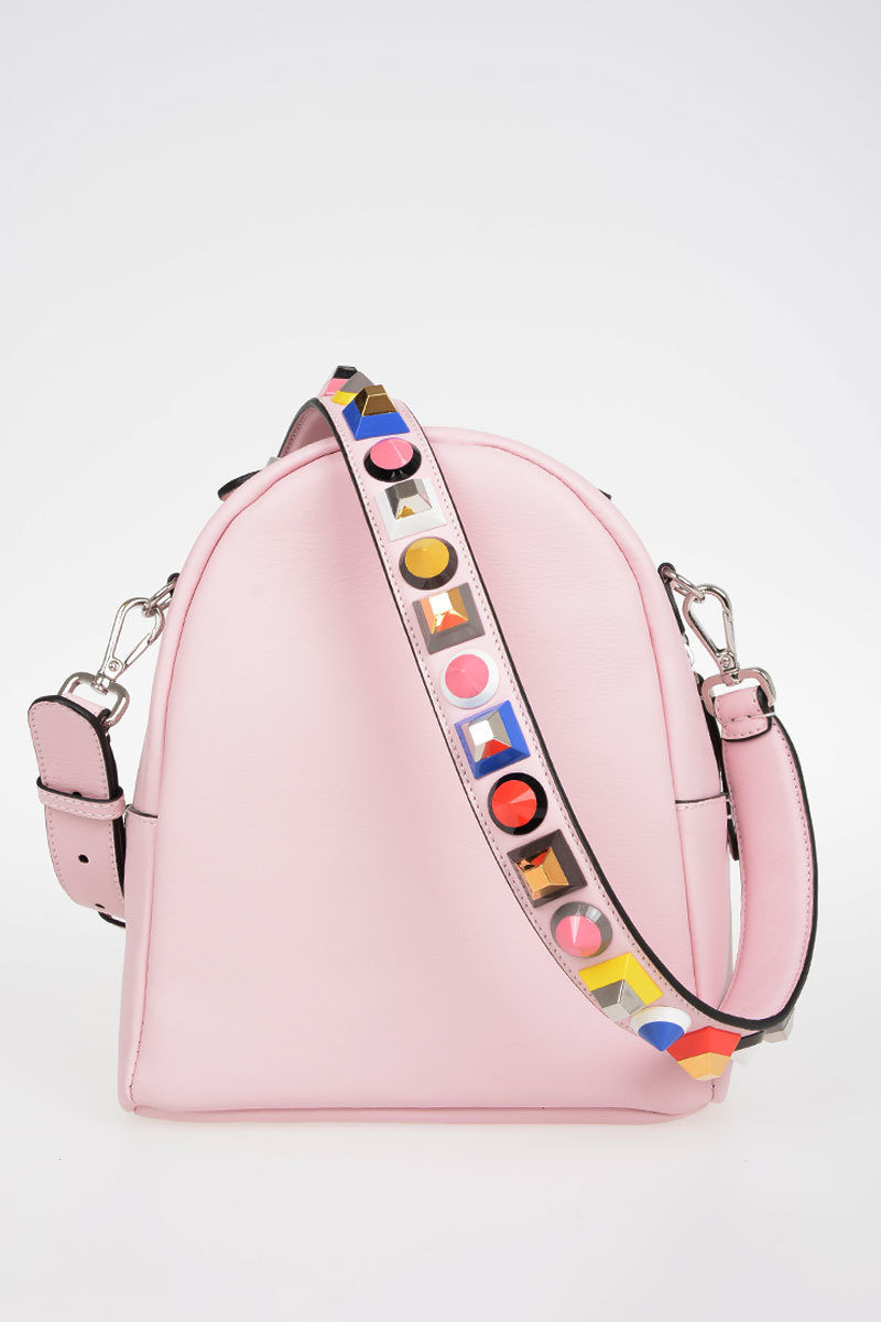 98e8d34673b1 Fendi Leather Studded Bag women - Glamood Outlet