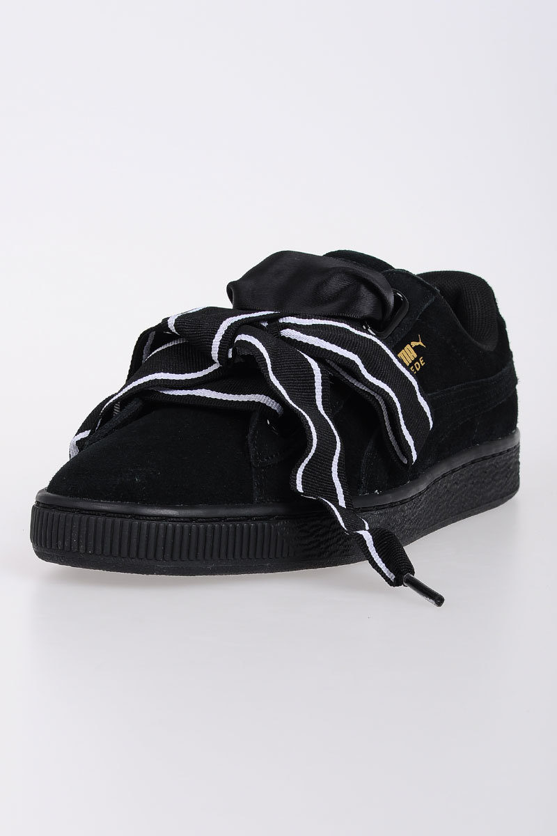 the latest bb55d 63e23 Leather SUEDE HEART SATIN II Sneakers