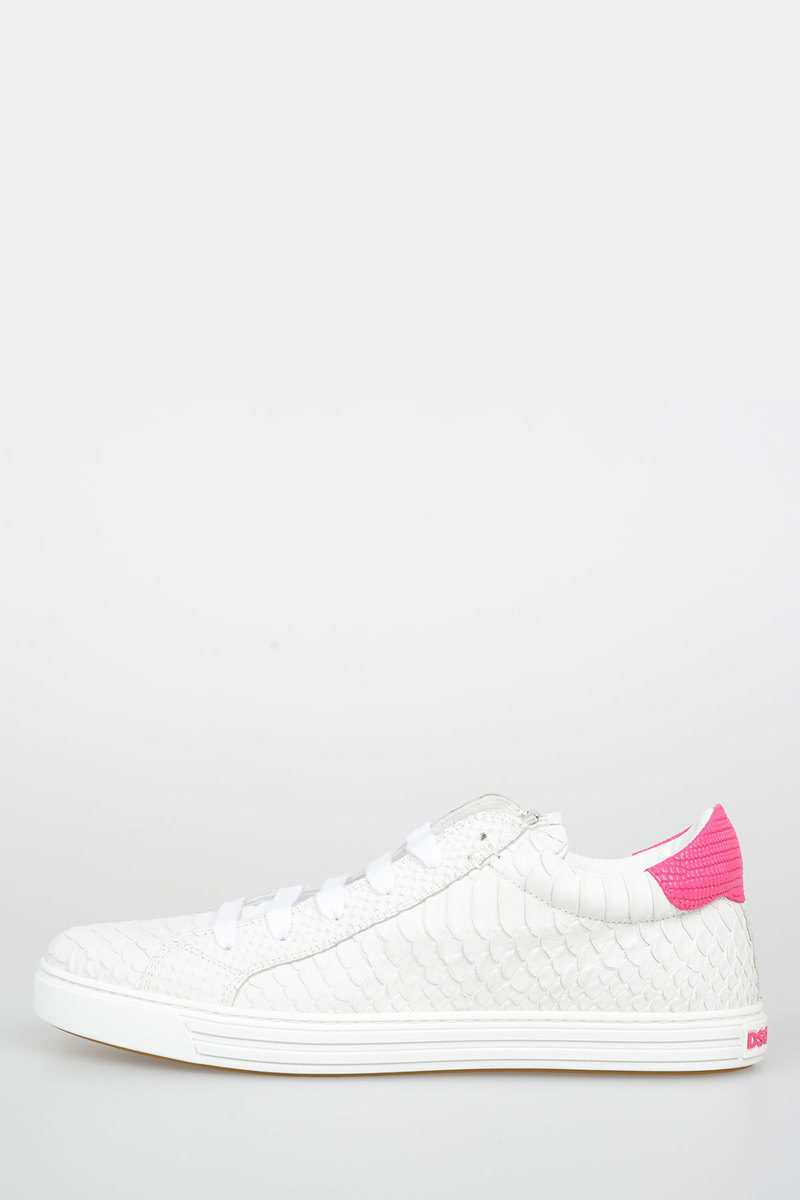 9c2e965e0abff Dsquared2 Leather TENNIS CLUB Sneakers women - Glamood Outlet