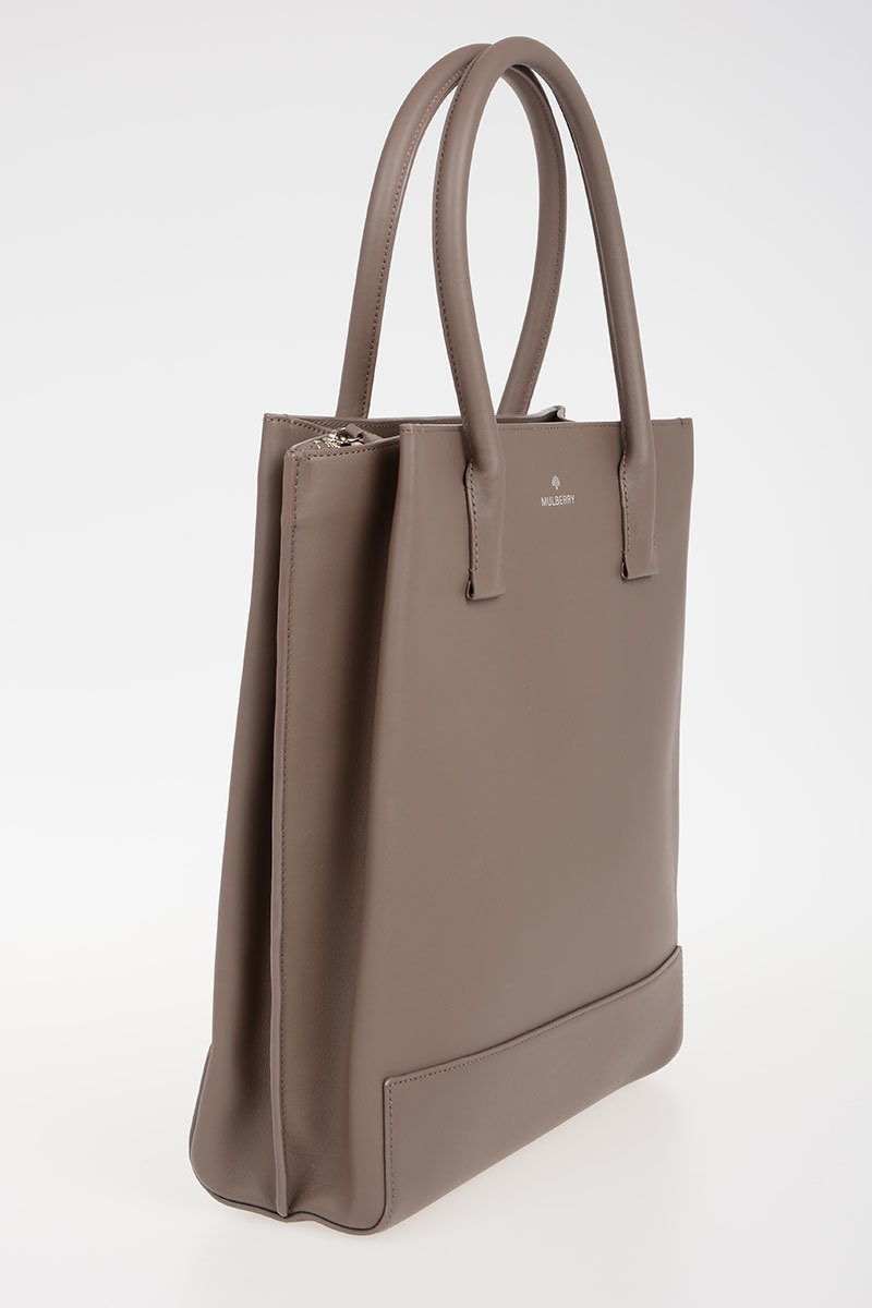 Mulberry Leather Tote Bag Women