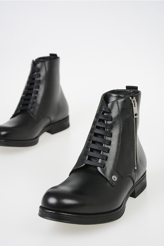 "Leather ""VICIOUS"" D-VICIOUS Boots"