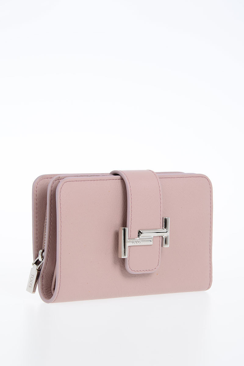 dbf2359373 Tods Leather Wallet women - Glamood Outlet