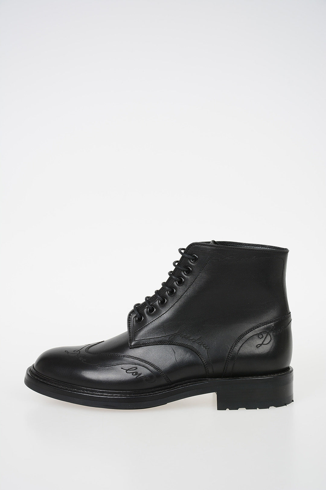 c1fab112b97 Saint Laurent Leather WILLIAM Lace Up Booties women - Glamood Outlet