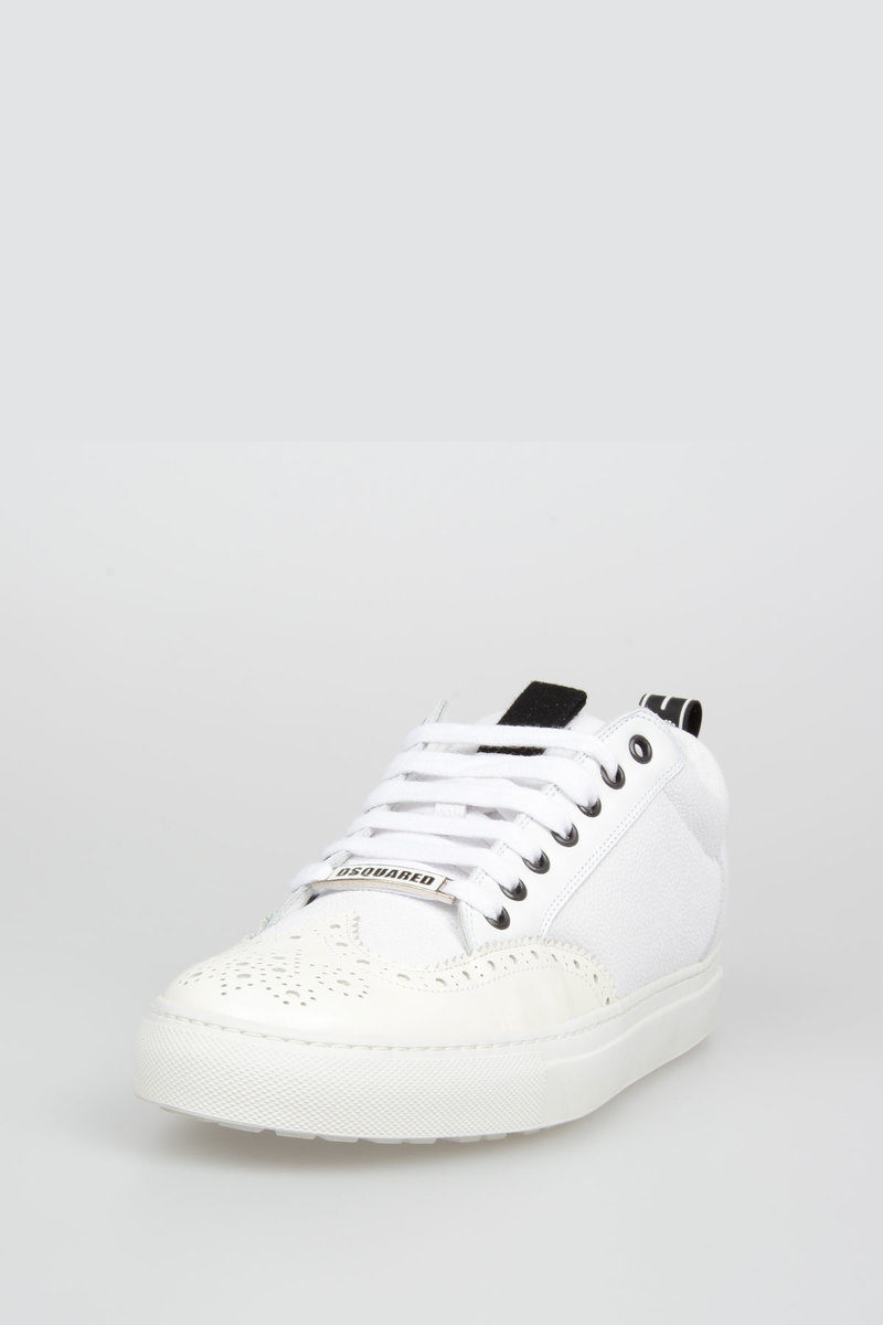 Dsquared2 Leather WILLY Sneakers men