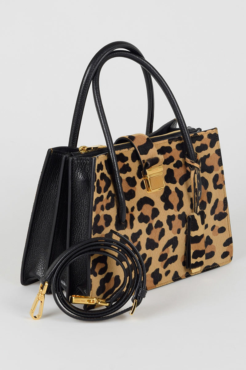 8cd98fd02817 Miu Miu Leo Printed Pony Skin bag women - Glamood Outlet