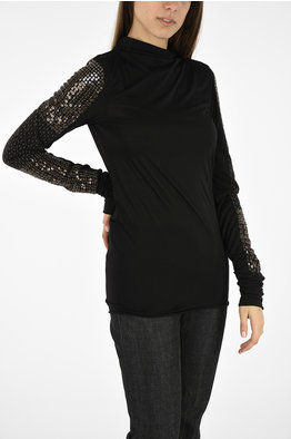 be8e174cb79c Outlet Rick Owens women Tops Black - Glamood Outlet