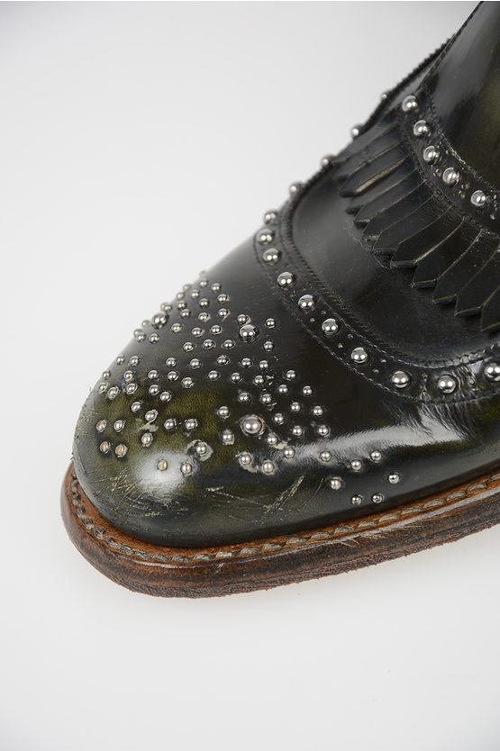 Limited Edition Leather Studded Shoes