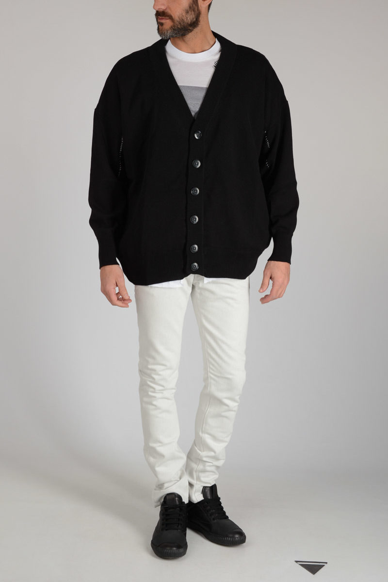 fca6f4dd14a Raf Simons Lined Cotton Cardigan men - Glamood Outlet