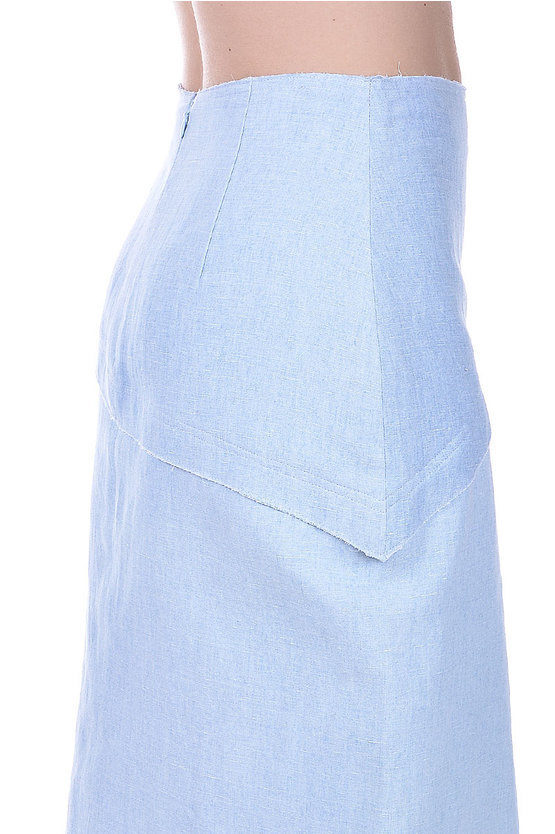 Linen Cotton Skirt